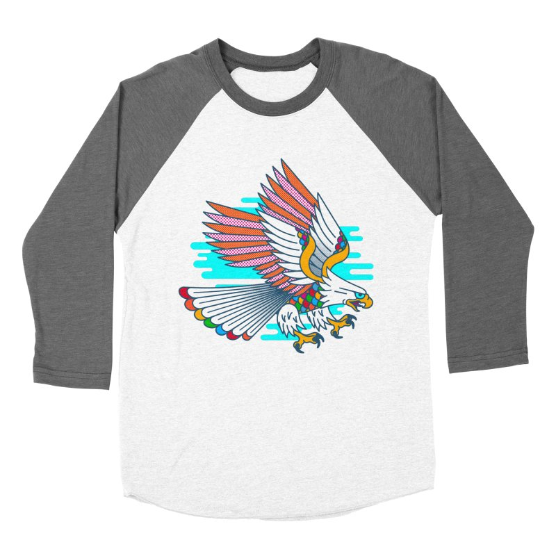 Flight of Fancy Women's Baseball Triblend Longsleeve T-Shirt by Quick Brown Fox