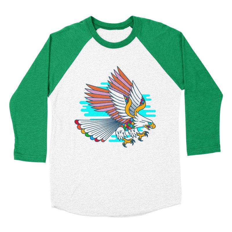 Flight of Fancy Women's Baseball Triblend Longsleeve T-Shirt by Quick Brown Fox