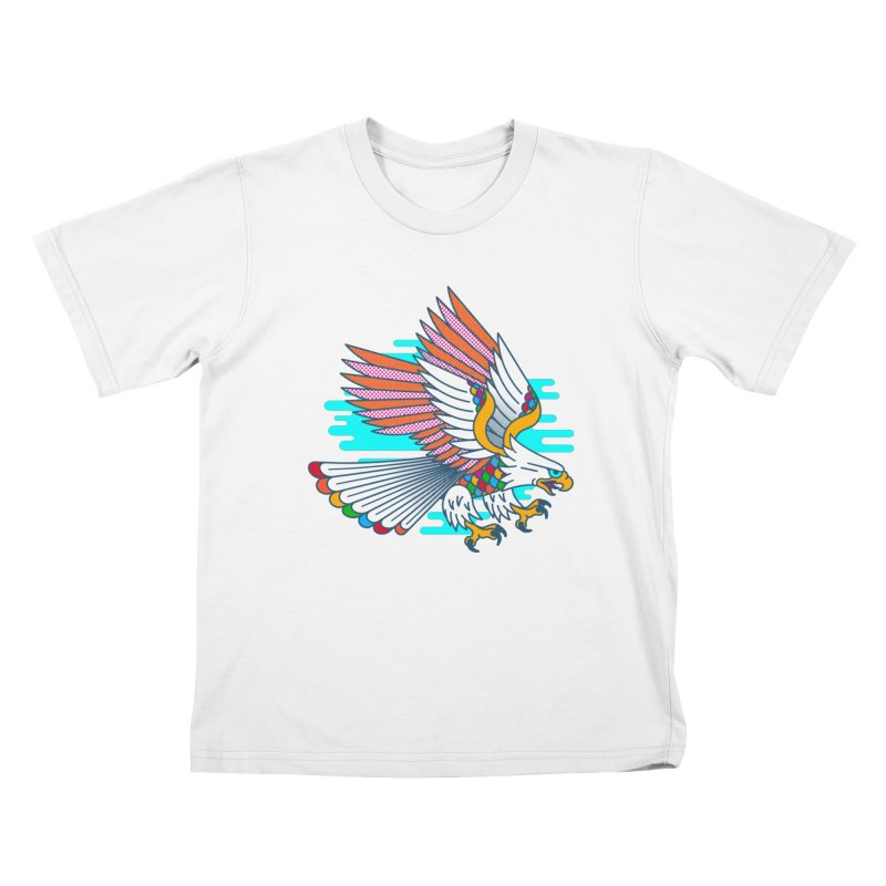 Flight of Fancy Kids T-Shirt by Quick Brown Fox