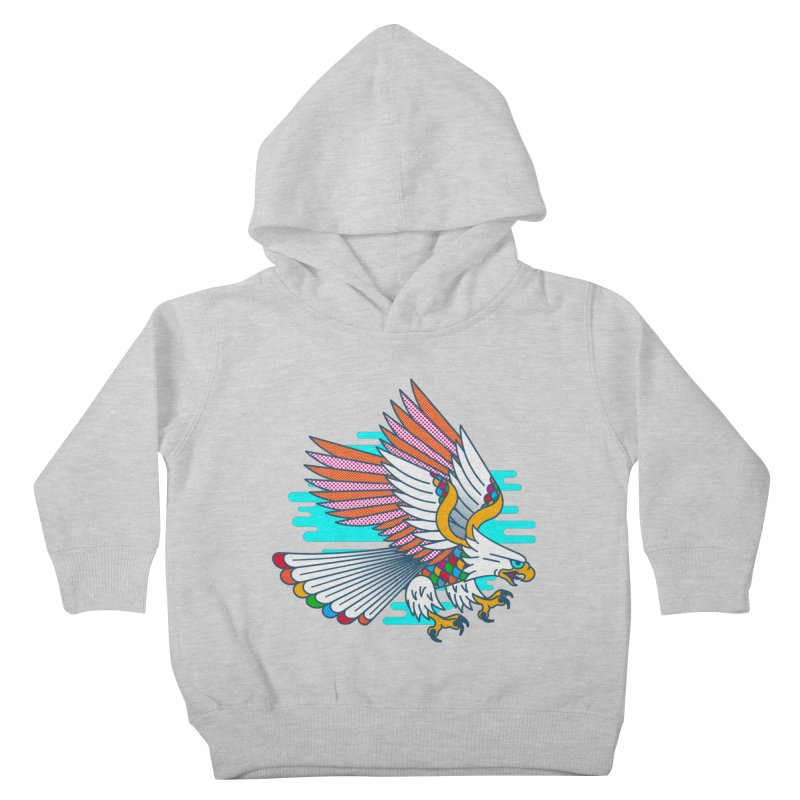 Flight of Fancy Kids Toddler Pullover Hoody by Quick Brown Fox