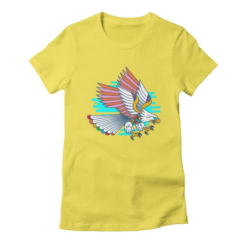Flight of Fancy Women's T-Shirt by Quick Brown Fox