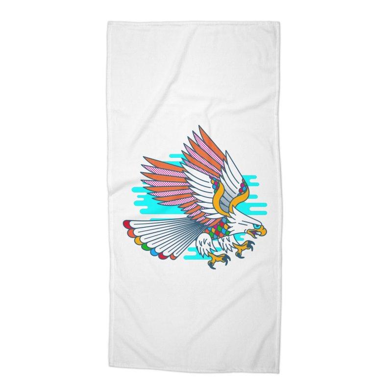 Flight of Fancy Accessories Beach Towel by Quick Brown Fox