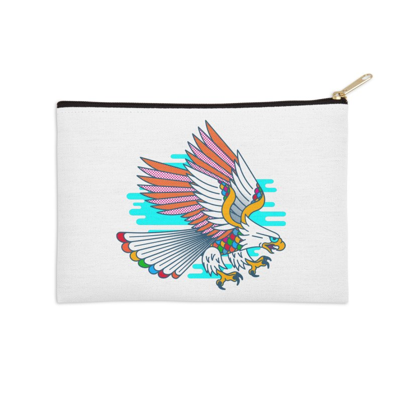 Flight of Fancy Accessories Zip Pouch by Quick Brown Fox
