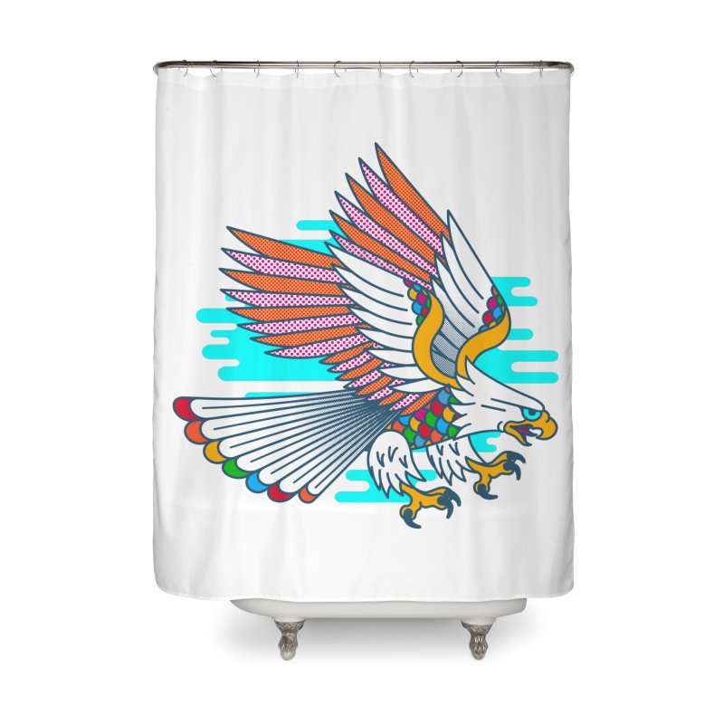 Flight of Fancy Home Shower Curtain by Quick Brown Fox
