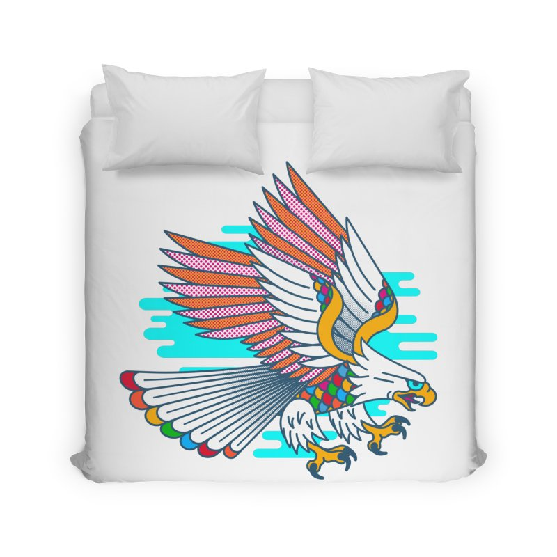 Flight of Fancy Home Duvet by Quick Brown Fox
