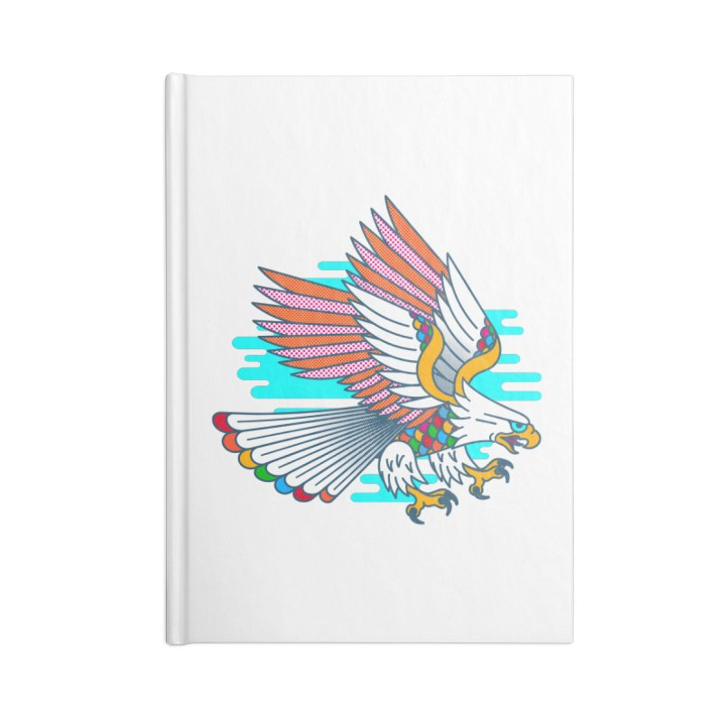 Flight of Fancy Accessories Blank Journal Notebook by Quick Brown Fox