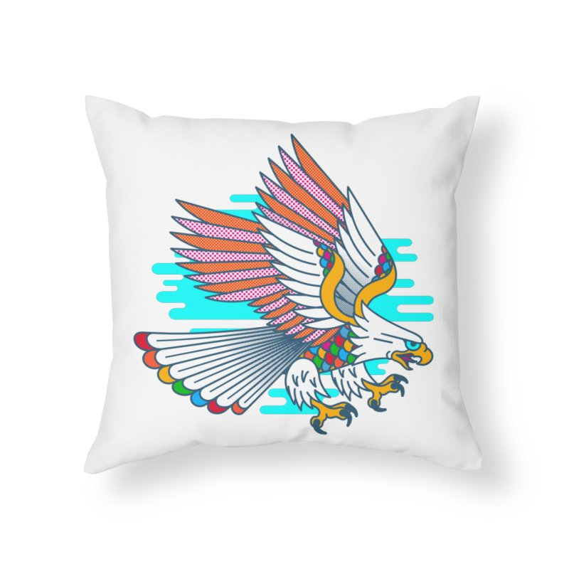Flight of Fancy Home Throw Pillow by Quick Brown Fox