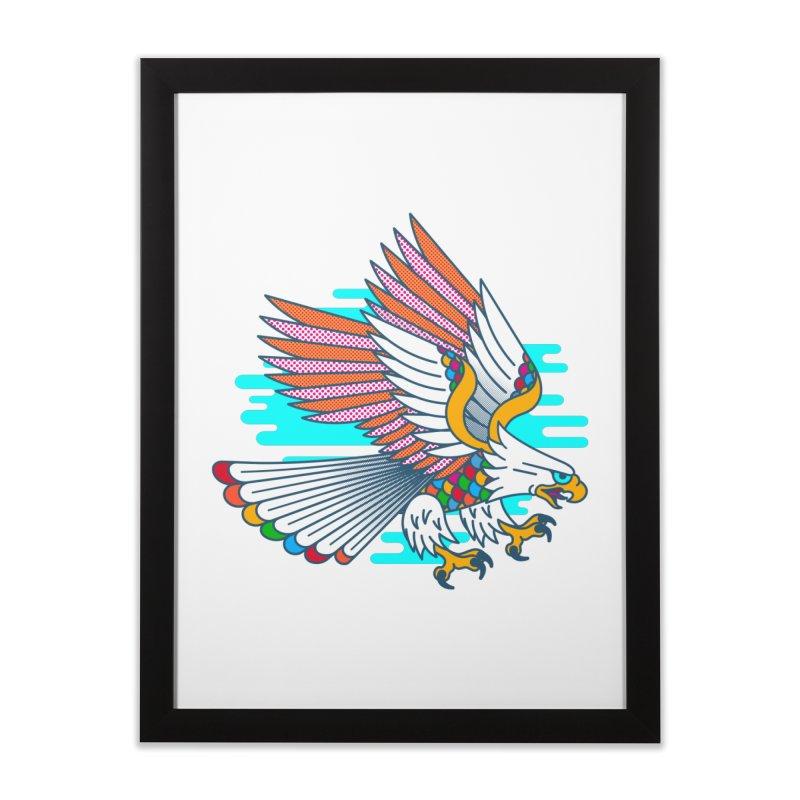 Flight of Fancy Home Framed Fine Art Print by Quick Brown Fox