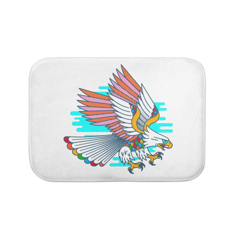 Flight of Fancy Home Bath Mat by Quick Brown Fox