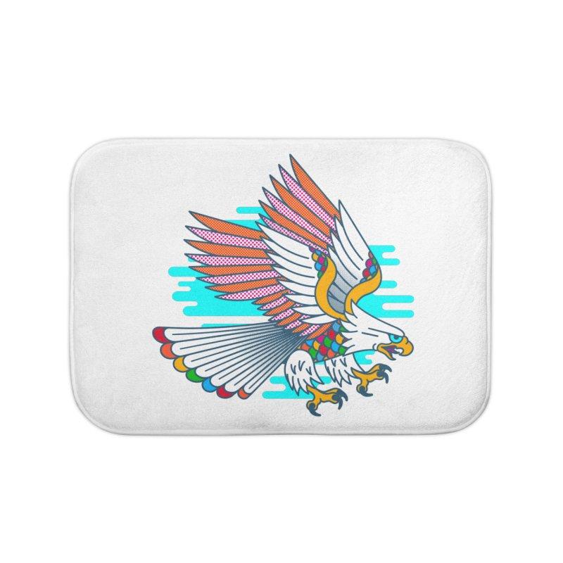Flight of Fancy Home Bath Mat by Quick Brown Fox