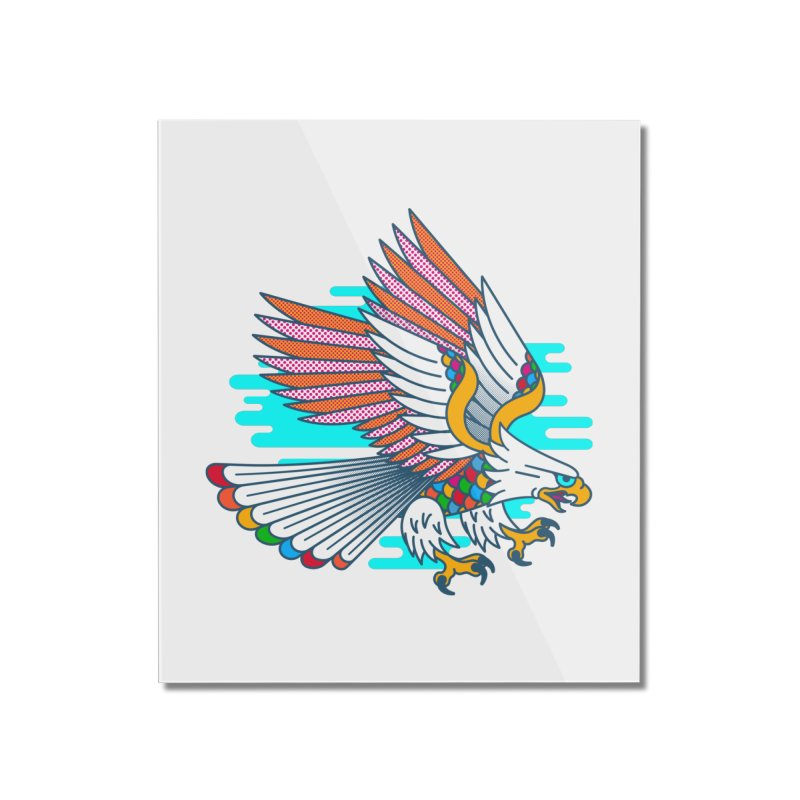 Flight of Fancy Home Mounted Acrylic Print by Quick Brown Fox