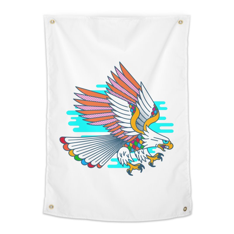 Flight of Fancy Home Tapestry by Quick Brown Fox