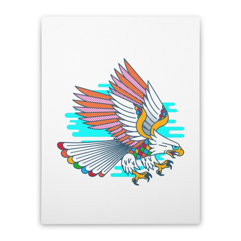 Flight of Fancy Home Stretched Canvas by Quick Brown Fox