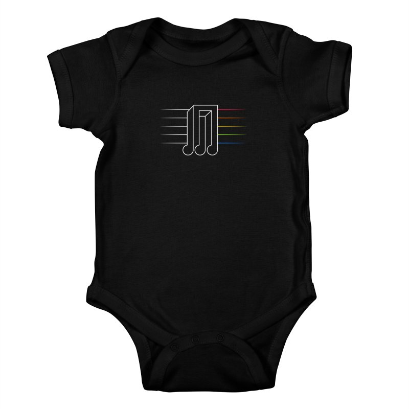 Transition Kids Baby Bodysuit by Quick Brown Fox