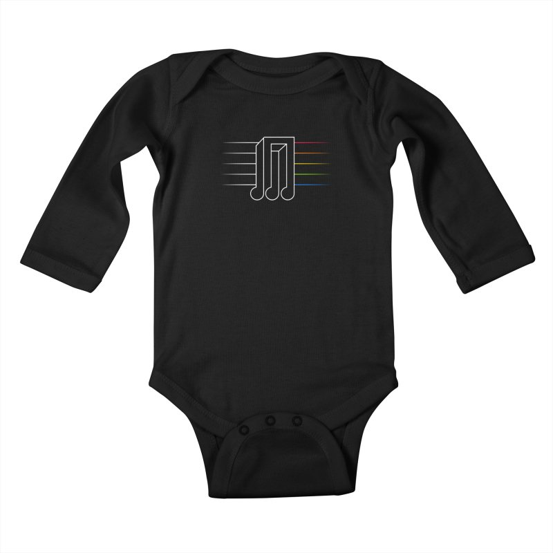 Transition Kids Baby Longsleeve Bodysuit by Quick Brown Fox