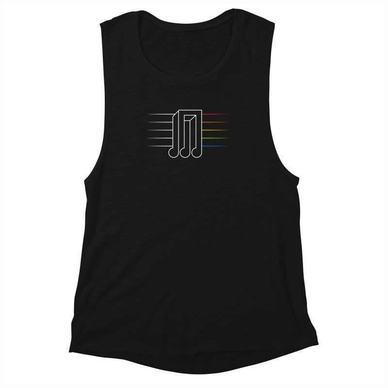 Transition Women's Muscle Tank by Quick Brown Fox
