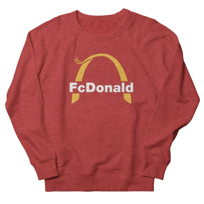 FcDonald Men's French Terry Sweatshirt by Quick Brown Fox