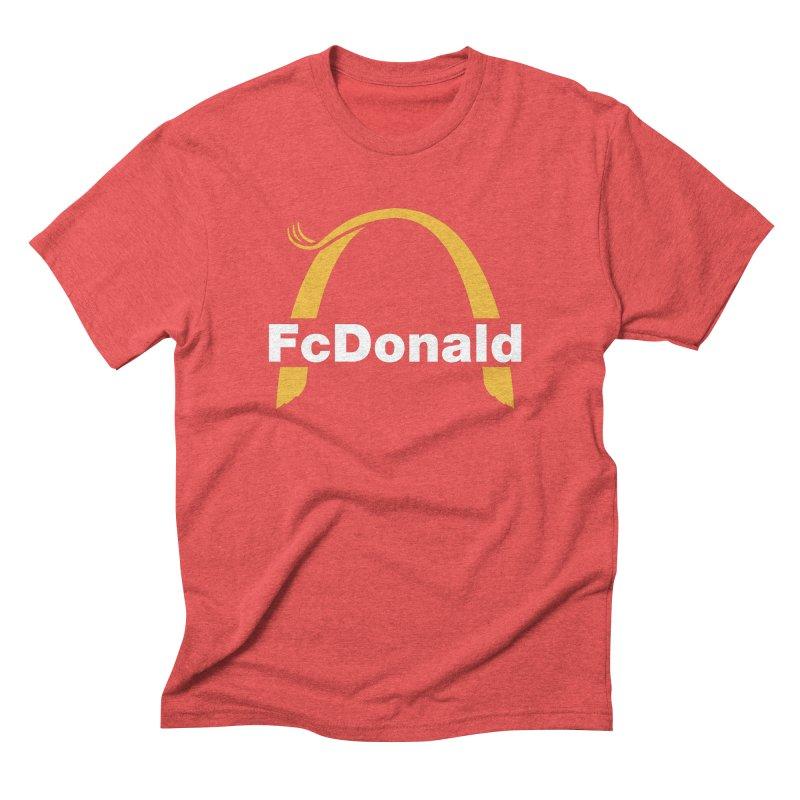FcDonald Men's Triblend T-Shirt by Quick Brown Fox