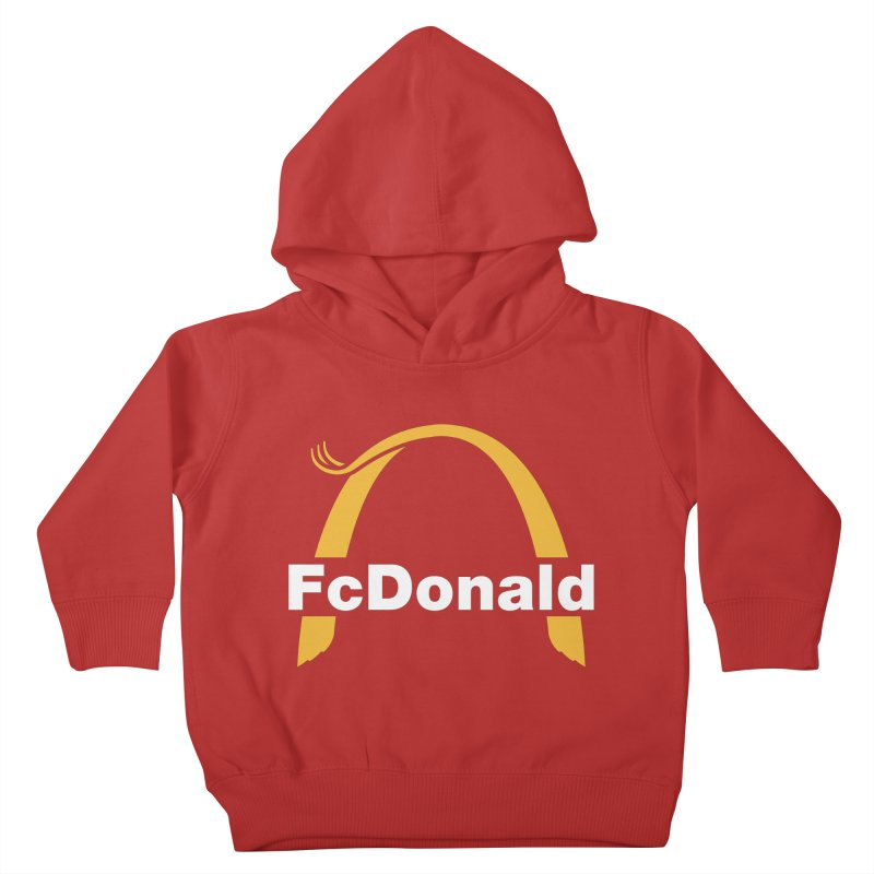 FcDonald Kids Toddler Pullover Hoody by Quick Brown Fox