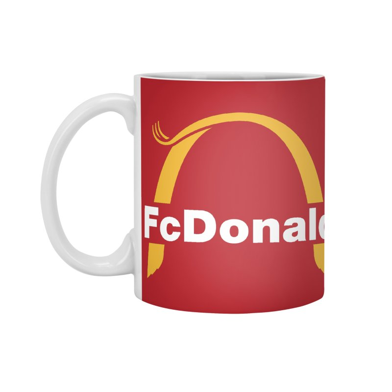 FcDonald Accessories Mug by Quick Brown Fox