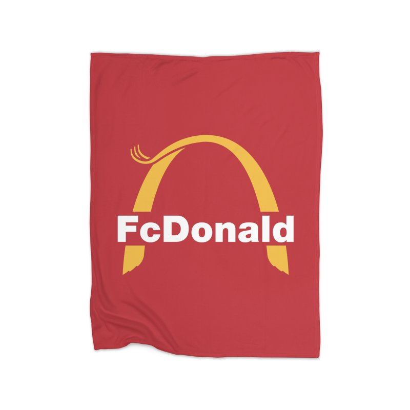 FcDonald Home Blanket by Quick Brown Fox