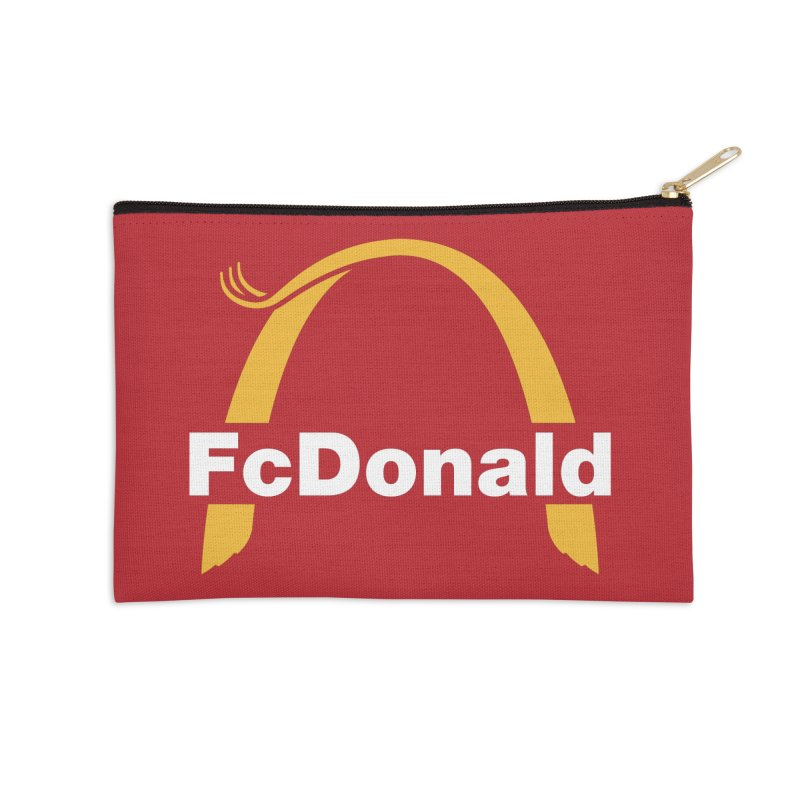 FcDonald Accessories Zip Pouch by Quick Brown Fox