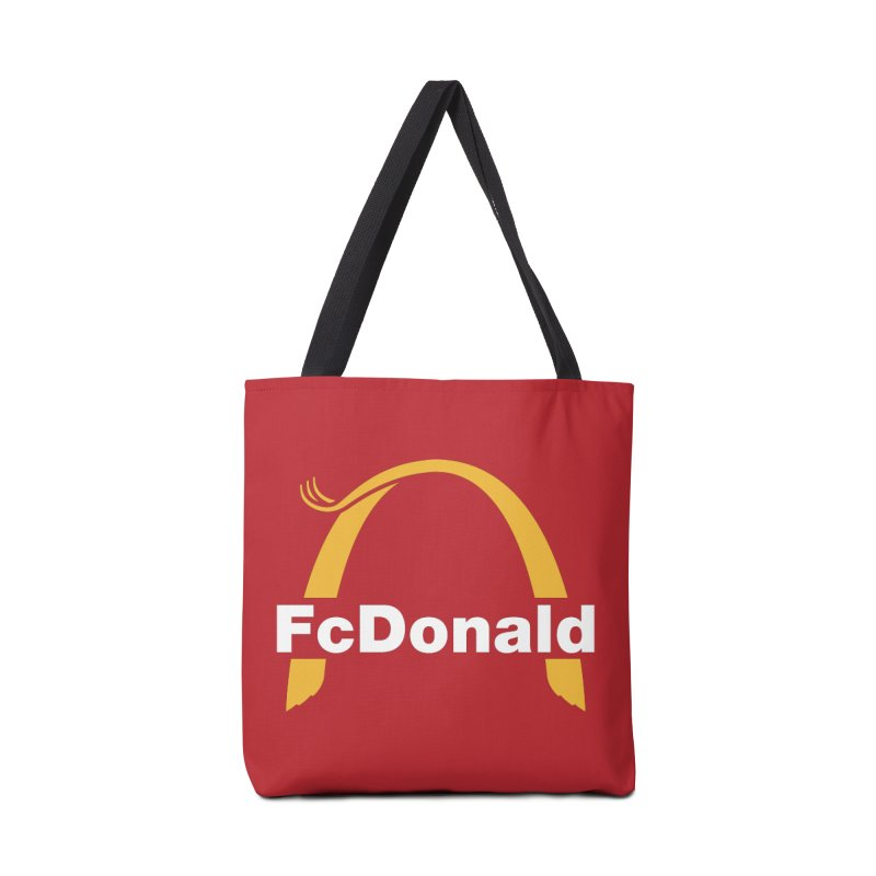 FcDonald Accessories Tote Bag Bag by Quick Brown Fox