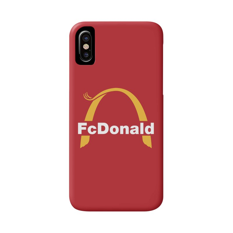 FcDonald Accessories Phone Case by Quick Brown Fox