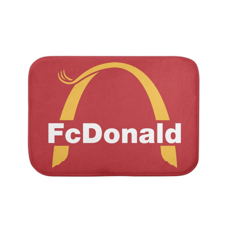 FcDonald Home Bath Mat by Quick Brown Fox