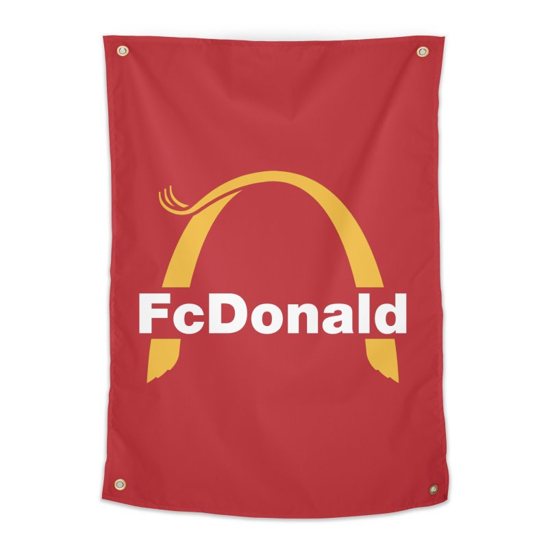 FcDonald Home Tapestry by Quick Brown Fox