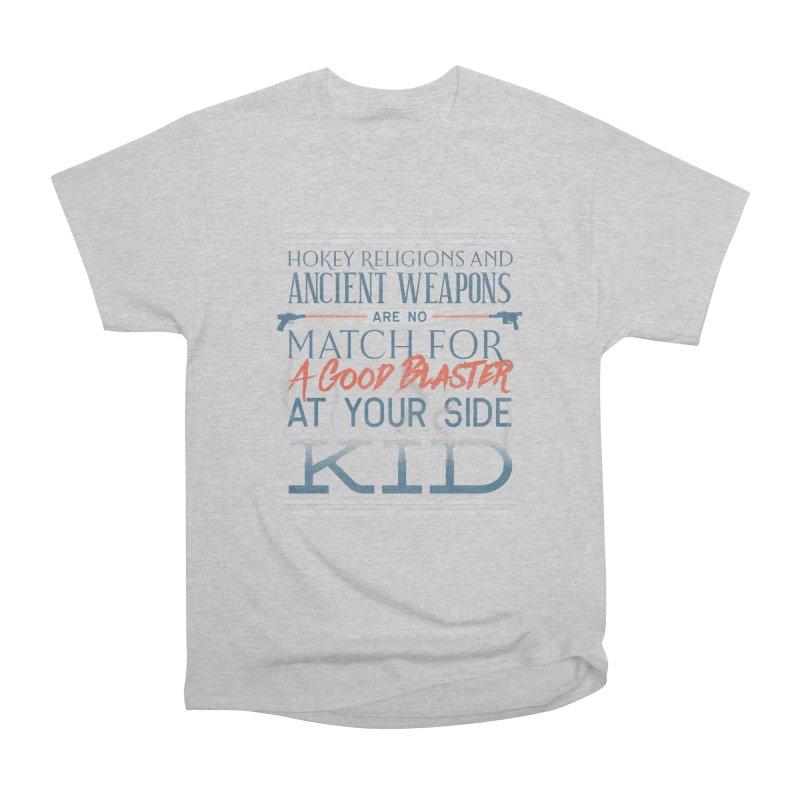 Smugglers' Wisdom Men's Heavyweight T-Shirt by Quick Brown Fox