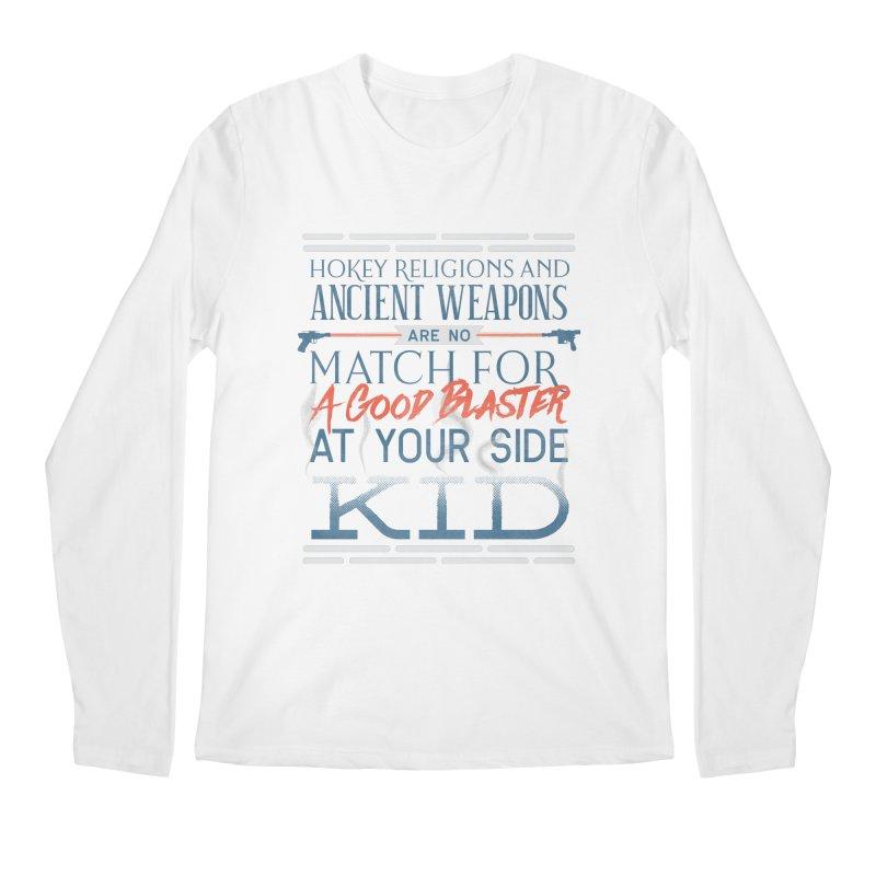 Smugglers' Wisdom Men's Regular Longsleeve T-Shirt by Quick Brown Fox