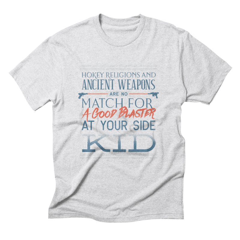 Smugglers' Wisdom Men's Triblend T-Shirt by Quick Brown Fox