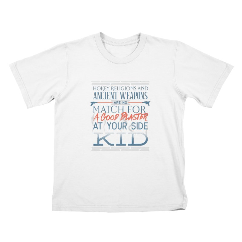 Smugglers' Wisdom Kids T-Shirt by Quick Brown Fox