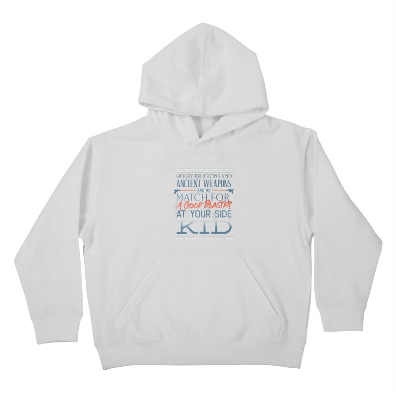 Smugglers' Wisdom Kids Pullover Hoody by Quick Brown Fox