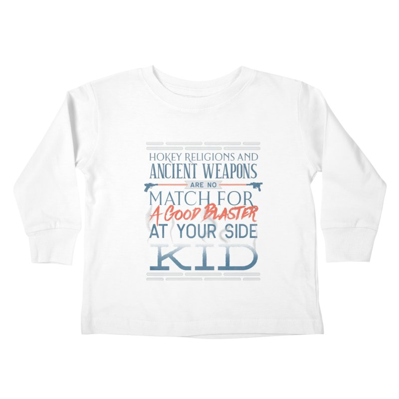 Smugglers' Wisdom Kids Toddler Longsleeve T-Shirt by Quick Brown Fox
