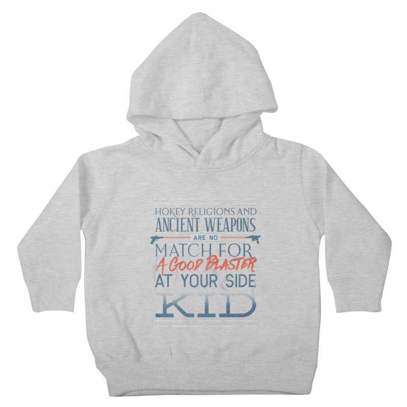 Smugglers' Wisdom Kids Toddler Pullover Hoody by Quick Brown Fox