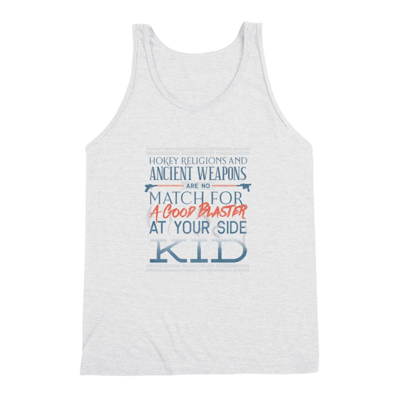 Smugglers' Wisdom Men's Triblend Tank by Quick Brown Fox