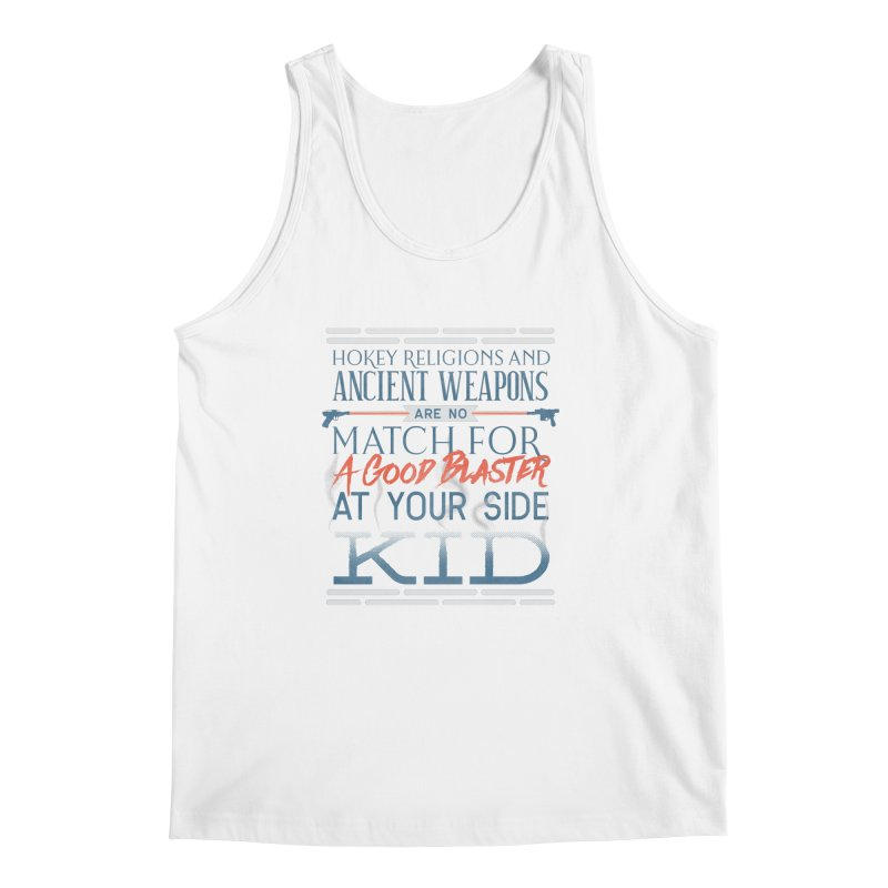 Smugglers' Wisdom Men's Regular Tank by Quick Brown Fox