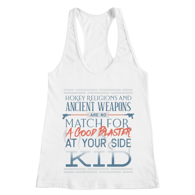Smugglers' Wisdom Women's Racerback Tank by Quick Brown Fox