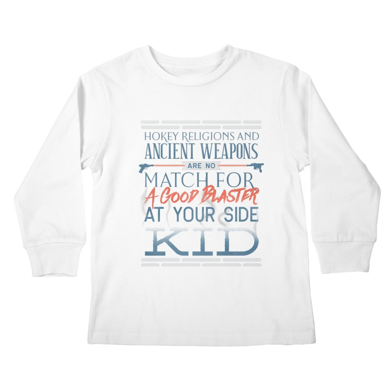 Smugglers' Wisdom Kids Longsleeve T-Shirt by Quick Brown Fox