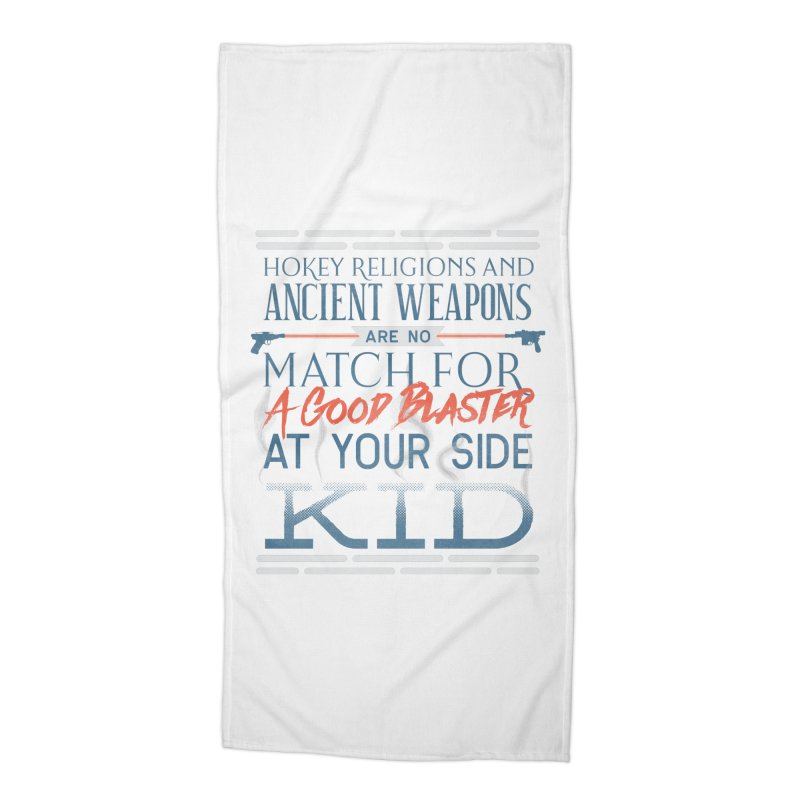 Smugglers' Wisdom Accessories Beach Towel by Quick Brown Fox