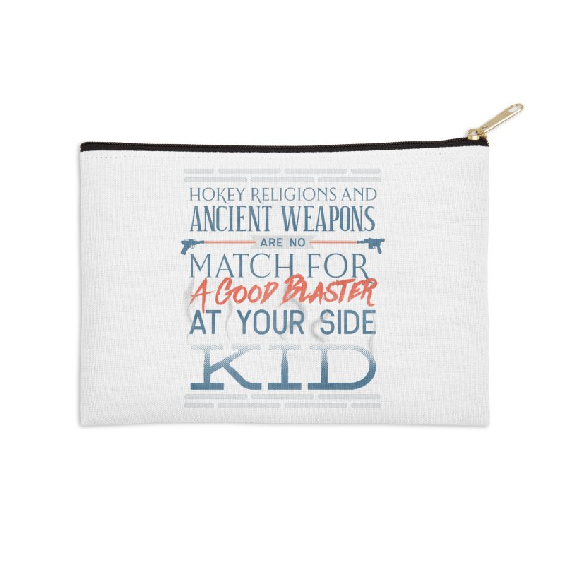 Smugglers' Wisdom Accessories Zip Pouch by Quick Brown Fox