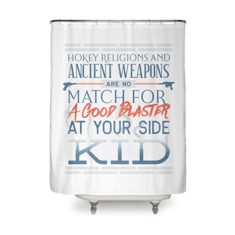 Smugglers' Wisdom Home Shower Curtain by Quick Brown Fox