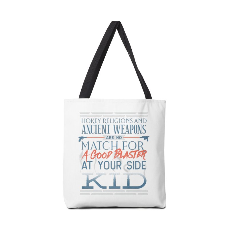 Smugglers' Wisdom Accessories Tote Bag Bag by Quick Brown Fox