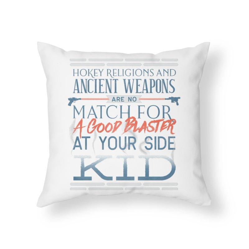 Smugglers' Wisdom Home Throw Pillow by Quick Brown Fox