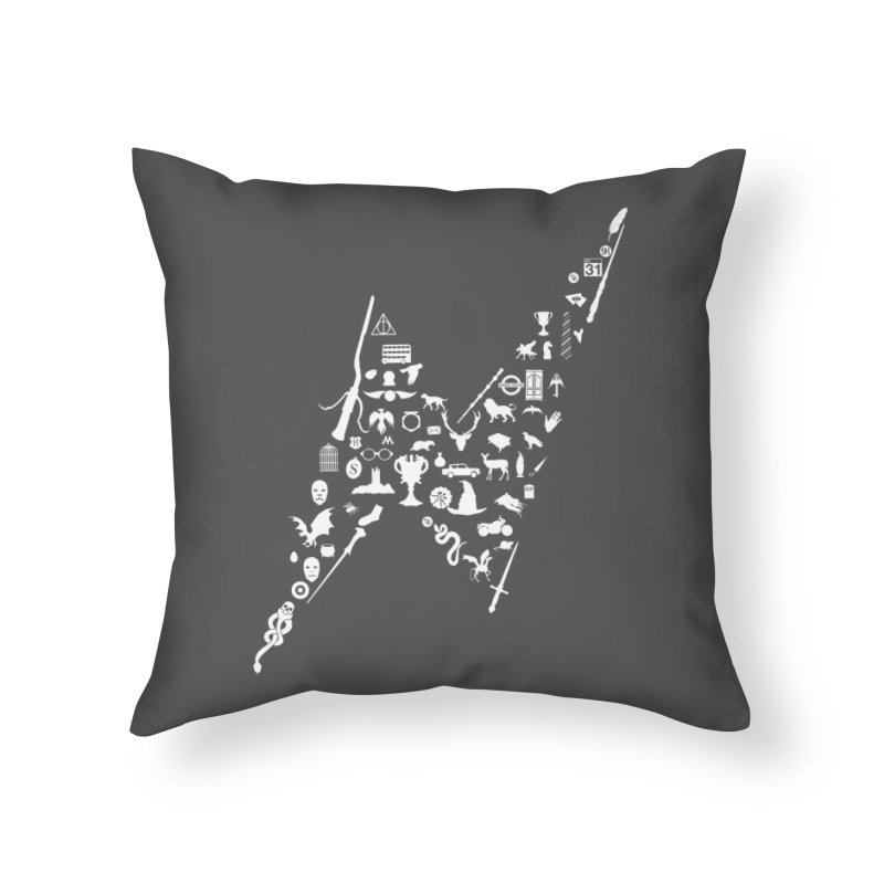 Tee Which Must Not Be Named Home Throw Pillow by Quick Brown Fox