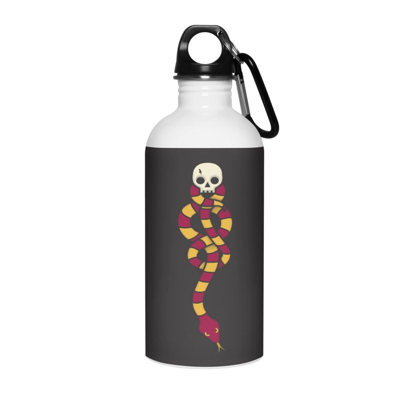 The Dark Scarf - Courage Accessories Water Bottle by Quick Brown Fox