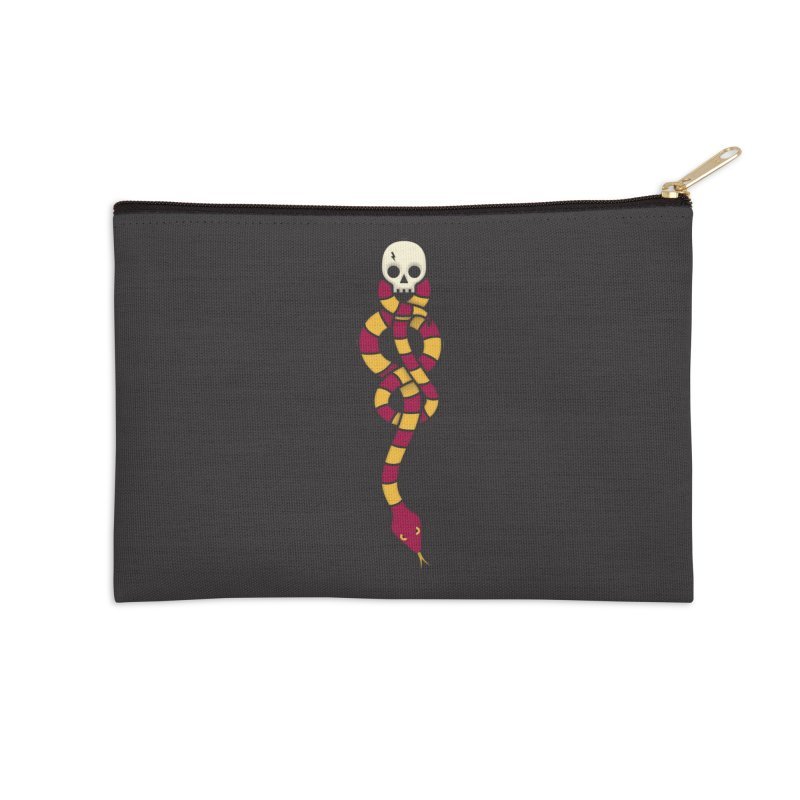The Dark Scarf - Courage Accessories Zip Pouch by Quick Brown Fox