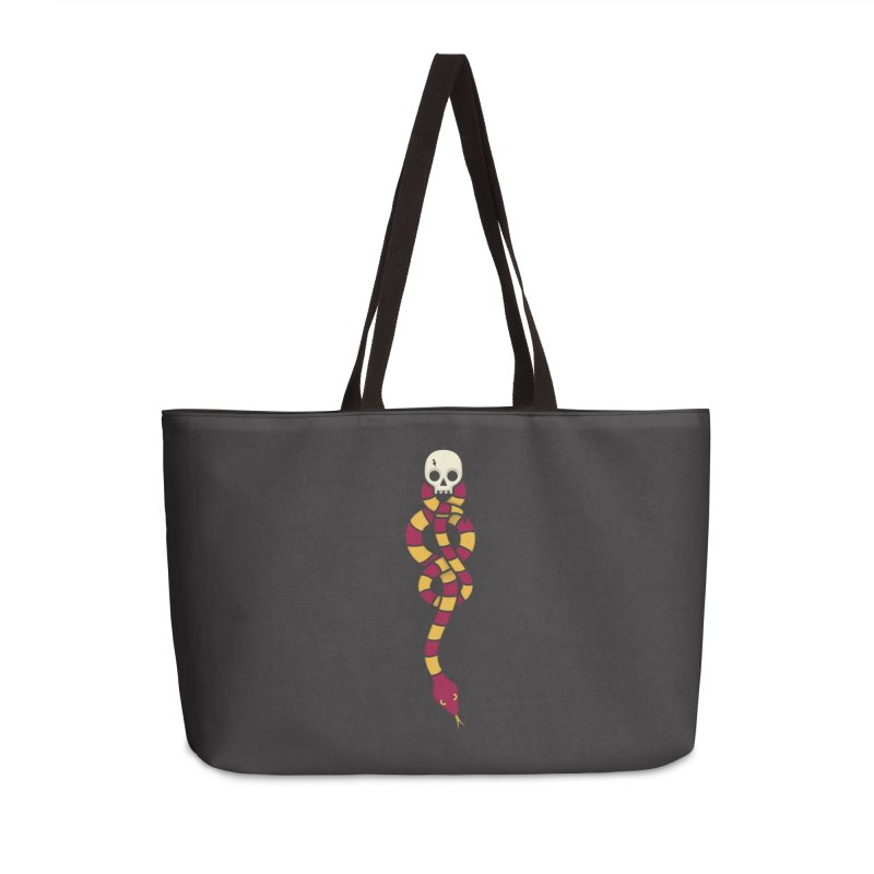The Dark Scarf - Courage Accessories Weekender Bag Bag by Quick Brown Fox